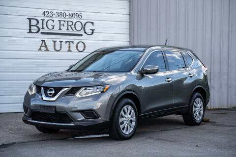 2015 Nissan Rogue for sale at Big Frog Auto in Cleveland TN