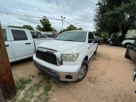 2007 Toyota Tundra for sale at S & J Auto Group in San Antonio TX