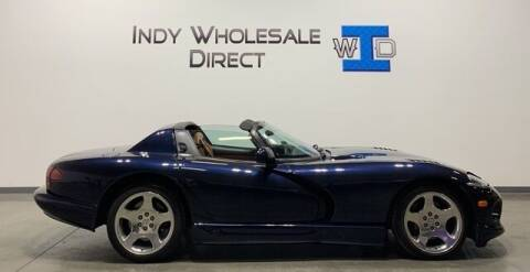 2001 Dodge Viper for sale at Indy Wholesale Direct in Carmel IN