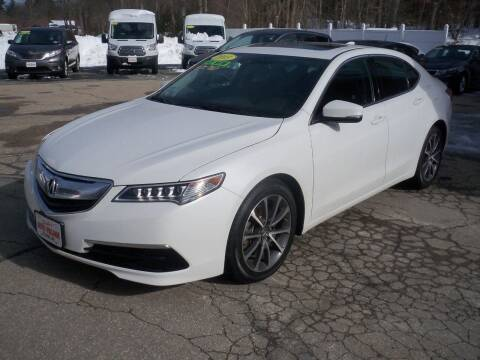 2015 Acura TLX for sale at Charlies Auto Village in Pelham NH