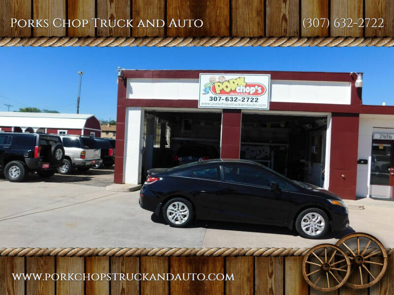 2014 Honda Civic for sale at Porks Chop Truck and Auto in Cheyenne WY