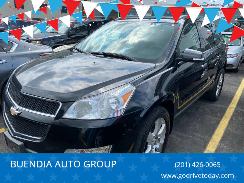 2012 Chevrolet Traverse for sale at BUENDIA AUTO GROUP in Hasbrouck Heights NJ