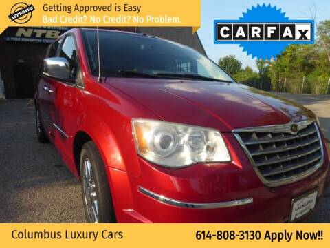 2008 Chrysler Town and Country for sale at Columbus Luxury Cars in Columbus OH