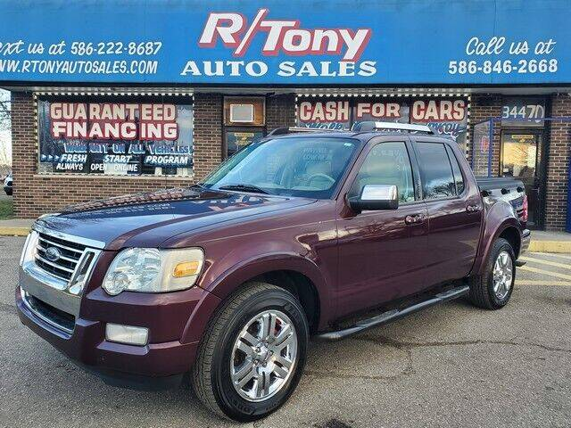 2008 Ford Explorer Sport Trac for sale at R Tony Auto Sales in Clinton Township MI