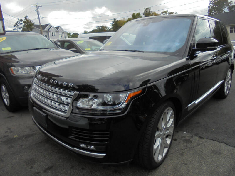 2017 Land Rover Range Rover for sale at Washington Street Auto Sales in Canton MA
