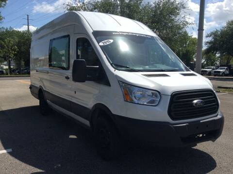 2015 Ford Transit Cargo for sale at Tropical Motors Cargo Vans and Car Sales Inc. in Pompano Beach FL
