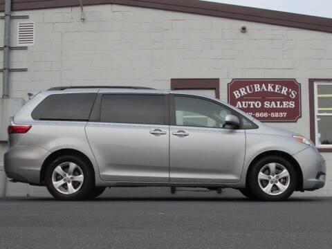 2015 Toyota Sienna for sale at Brubakers Auto Sales in Myerstown PA