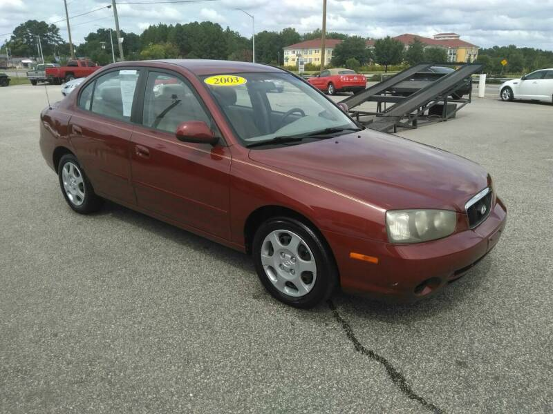 2003 Hyundai Elantra for sale at Kelly & Kelly Supermarket of Cars in Fayetteville NC