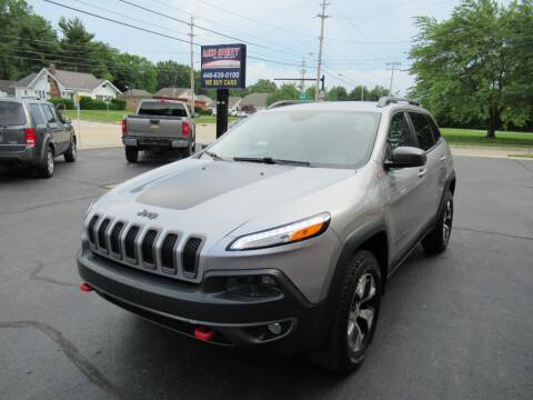 2015 Jeep Cherokee for sale at Lake County Auto Sales in Painesville OH