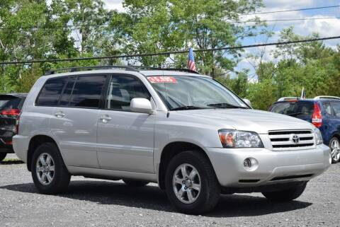 2005 Toyota Highlander for sale at GREENPORT AUTO in Hudson NY