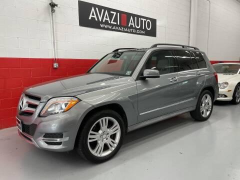 2015 Mercedes-Benz GLK for sale at AVAZI AUTO GROUP LLC in Gaithersburg MD