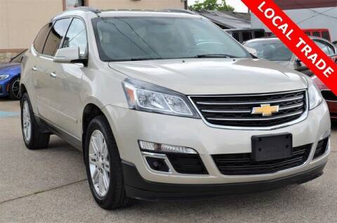 2014 Chevrolet Traverse for sale at LAKESIDE MOTORS, INC. in Sachse TX