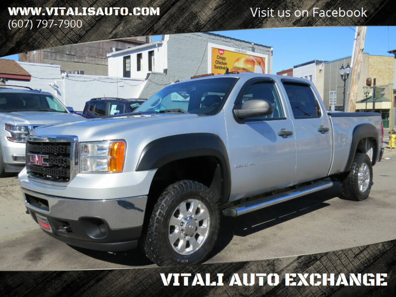 2011 GMC Sierra 3500HD for sale at VITALI AUTO EXCHANGE in Johnson City NY