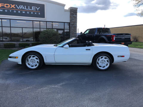 1991 Chevrolet Corvette for sale at Fox Valley Motorworks in Lake In The Hills IL