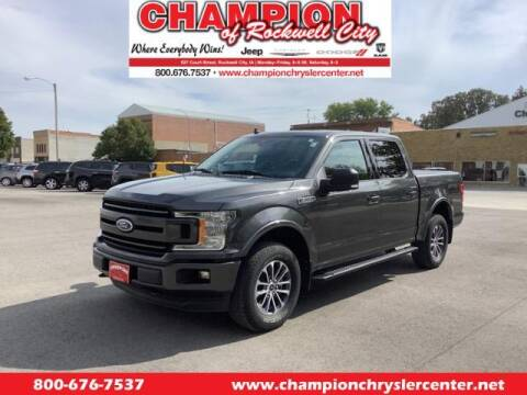 2020 Ford F-150 for sale at CHAMPION CHRYSLER CENTER in Rockwell City IA
