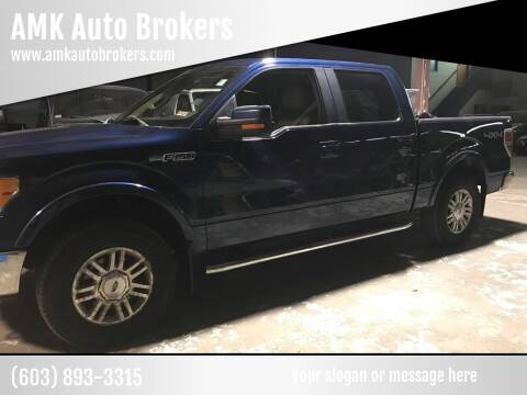 2010 Ford F-150 for sale at AMK Auto Brokers in Derry NH
