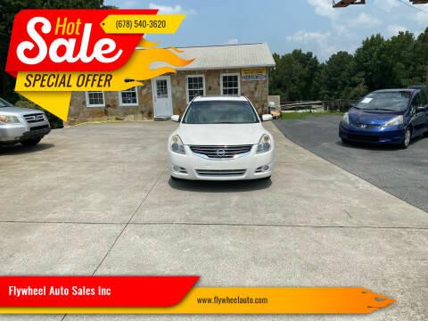 2012 Nissan Altima for sale at Flywheel Auto Sales Inc in Woodstock GA