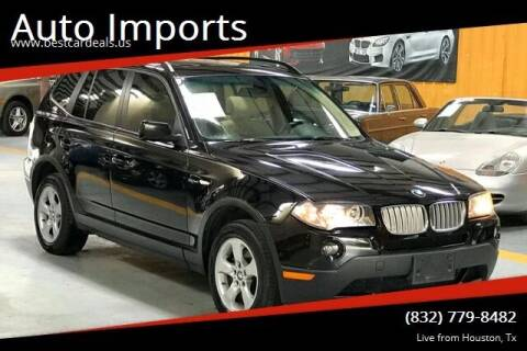 2007 BMW X3 for sale at Auto Imports in Houston TX