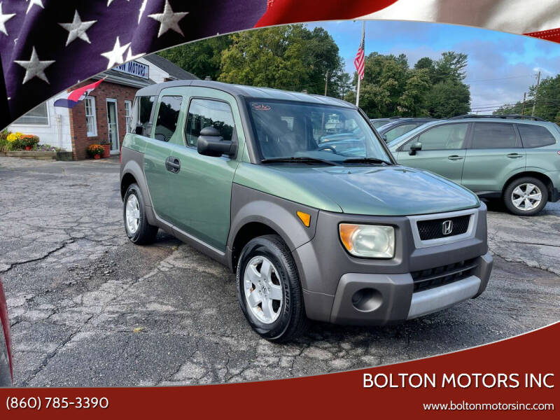 2003 Honda Element for sale at BOLTON MOTORS INC in Bolton CT