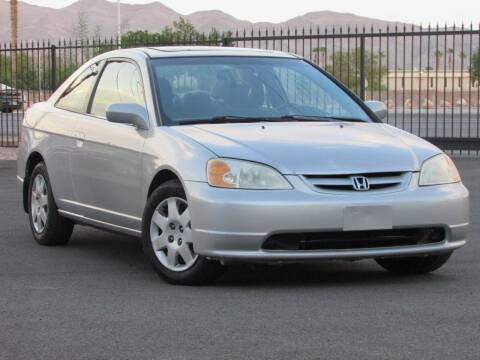 2002 Honda Civic for sale at Best Auto Buy in Las Vegas NV