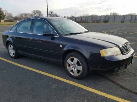 2003 Audi A6 for sale at Capital Fleet  & Remarketing  Auto Finance in Columbia Heights MN
