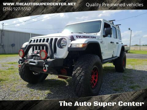 2019 Jeep Wrangler Unlimited for sale at The Auto Super Center in Centre AL