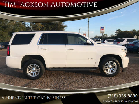 2019 Chevrolet Tahoe for sale at Tim Jackson Automotive in Jonesville LA