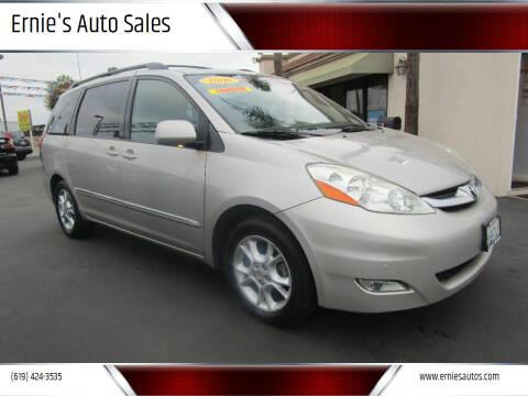 2006 Toyota Sienna for sale at Ernie's Auto Sales in Chula Vista CA
