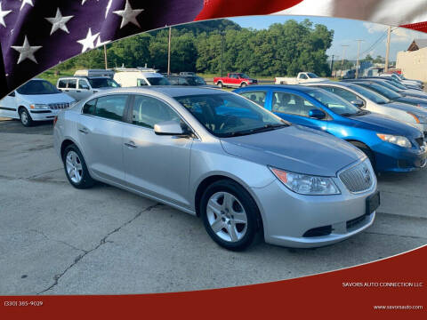 2010 Buick LaCrosse for sale at SAVORS AUTO CONNECTION LLC in East Liverpool OH