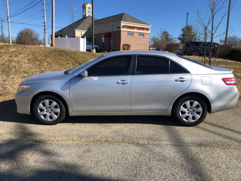 2010 Toyota Camry for sale at Bill Henderson Auto Group Inc in Statesville NC