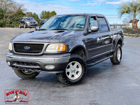 2003 Ford F-150 for sale at Rock 'n Roll Auto Sales in West Columbia SC
