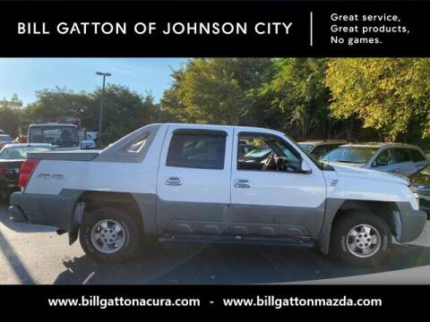 2002 Chevrolet Avalanche for sale at Bill Gatton Used Cars - BILL GATTON ACURA MAZDA in Johnson City TN