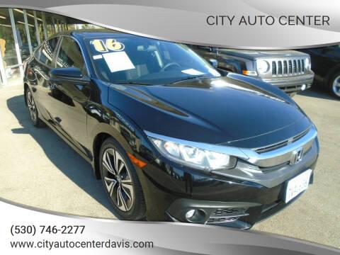 2016 Honda Civic for sale at City Auto Center in Davis CA