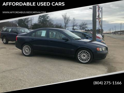 2003 Volvo S60 for sale at AFFORDABLE USED CARS in Richmond VA