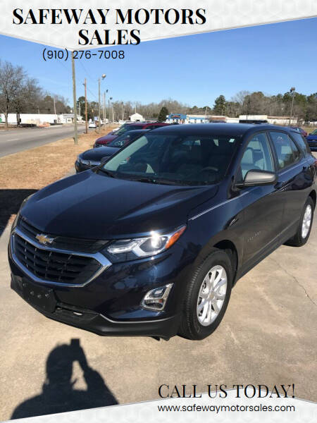 2020 Chevrolet Equinox for sale at Safeway Motors Sales in Laurinburg NC