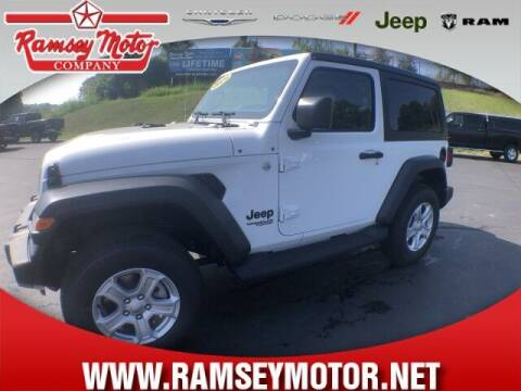 2021 Jeep Wrangler for sale at RAMSEY MOTOR CO in Harrison AR