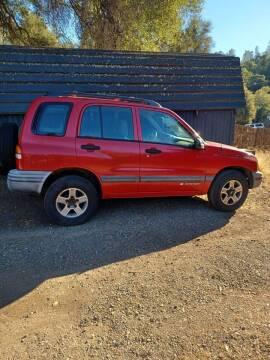 2002 Chevrolet Tracker for sale at AUCTION SERVICES OF CALIFORNIA in El Dorado CA