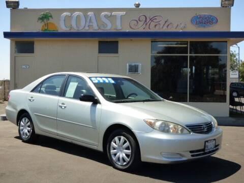 2005 Toyota Camry for sale at Coast Motors in Arroyo Grande CA