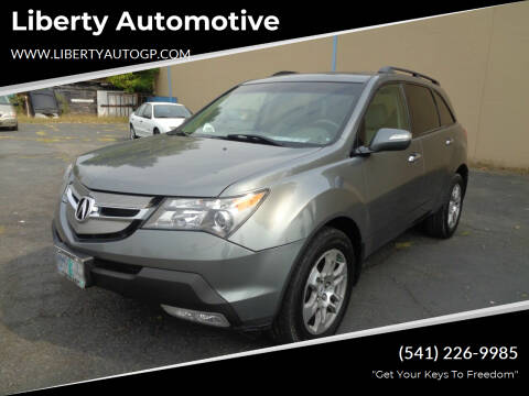 2008 Acura MDX for sale at Liberty Automotive in Grants Pass OR