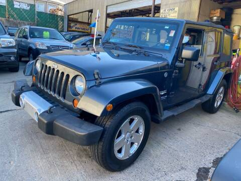 2008 Jeep Wrangler Unlimited for sale at White River Auto Sales in New Rochelle NY
