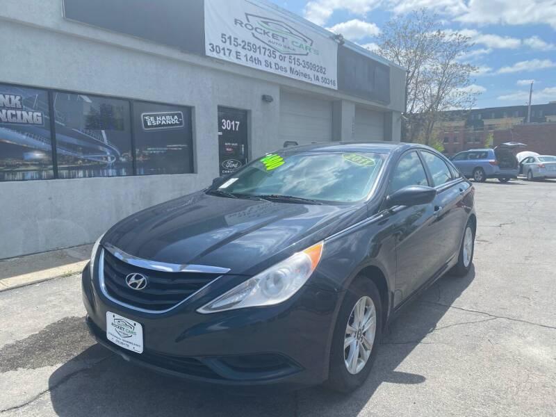 2011 Hyundai Sonata for sale at Rocket Cars Auto Sales LLC in Des Moines IA