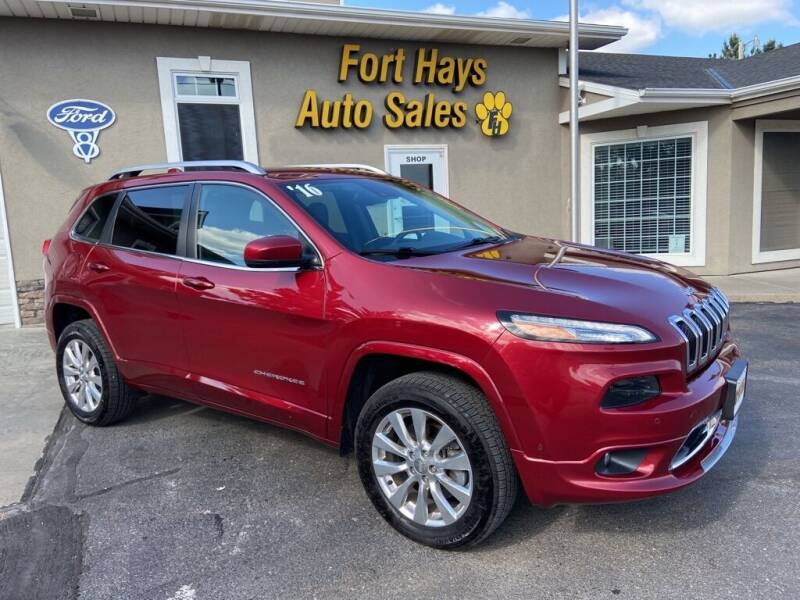 2016 Jeep Cherokee for sale at Fort Hays Auto Sales in Hays KS