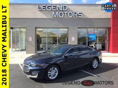 2018 Chevrolet Malibu for sale at Legend Motors of Detroit - Legend Motors of Waterford in Waterford MI