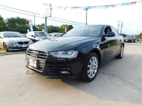2014 Audi A4 for sale at AMD AUTO in San Antonio TX