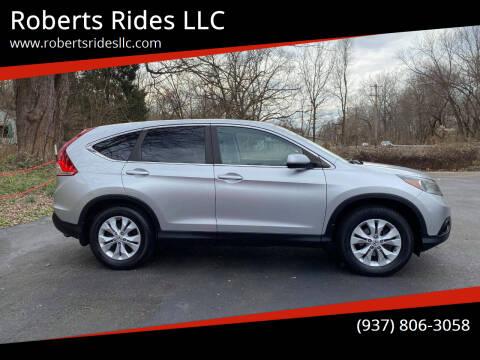 2012 Honda CR-V for sale at Roberts Rides LLC in Franklin OH