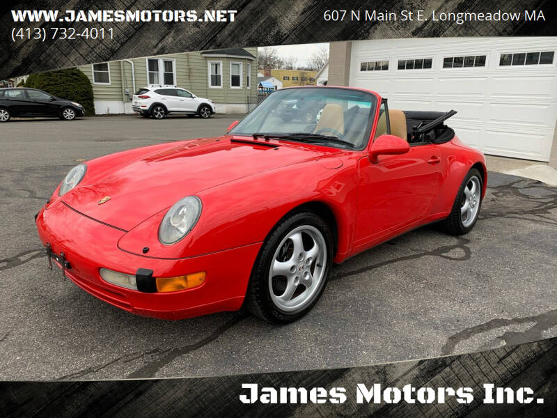 1997 Porsche 911 for sale at James Motors Inc. in East Longmeadow MA