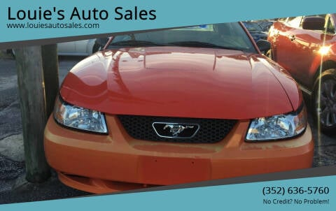 2004 Ford Mustang for sale at Louie's Auto Sales in Leesburg FL