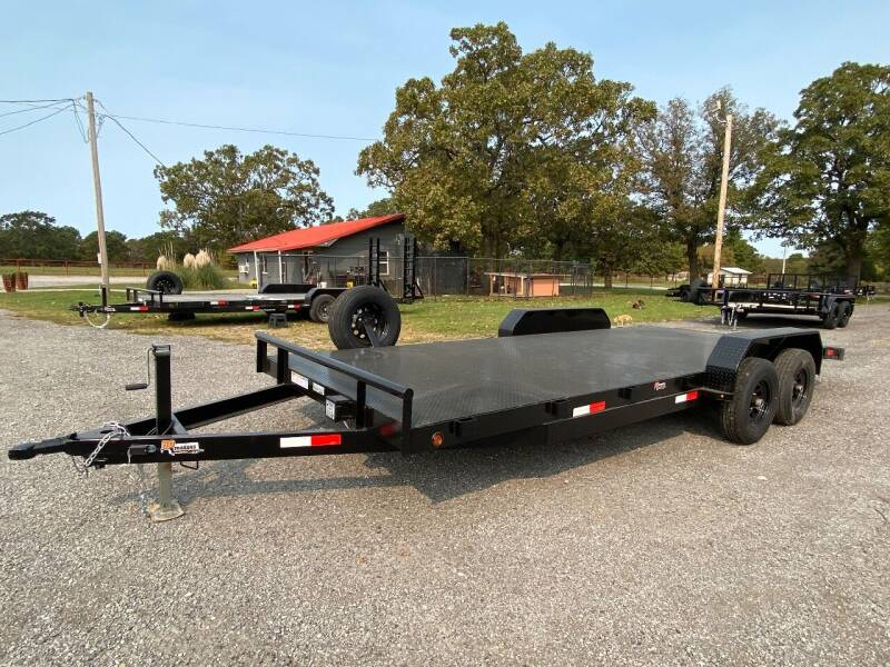 """2020 HD Trailer 83""""x20' 5200lb Axles CarHauler for sale at TINKER MOTOR COMPANY in Indianola OK"""
