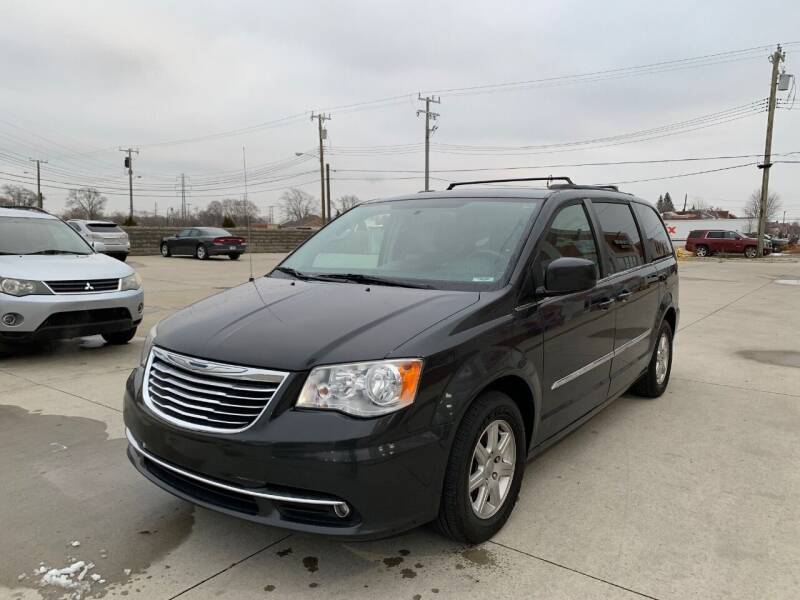 2012 Chrysler Town and Country for sale at Crooza in Dearborn MI