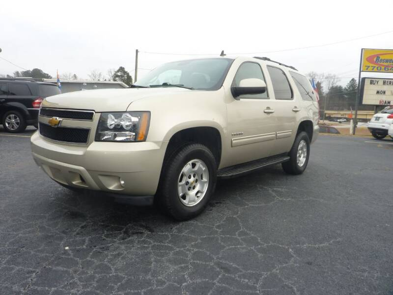 2013 Chevrolet Tahoe for sale at Roswell Auto Imports in Austell GA